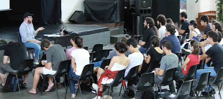 Read more about the article Cobertura SeIS.15 – Workshop trilha sonora